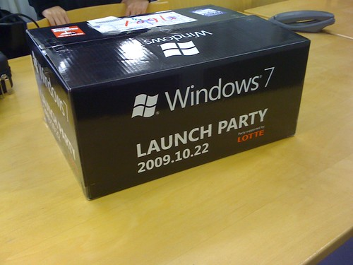 windows7 launch party