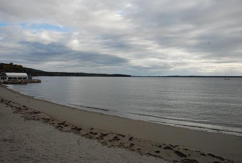 Lincolnville Beach near Camden, Maine