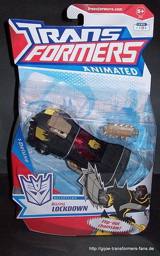 Blazing Lockdown Animated Deluxe Transformers 001