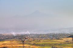 Byurakan and the Ararat Plain /     (Seroujo) Tags: mount armenia plain masis ararat mountararat  byurakan      obersvator