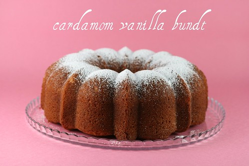 Cardamom Vanilla Pound Cake - I Like Big Bundts