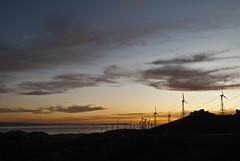 Atardecer en el estrecho (David Silva Mesa) Tags: atardecer andalucia cadiz tarifa estrecho estrechodegibraltar energiaeolica miradordelestrecho cdgexplorer