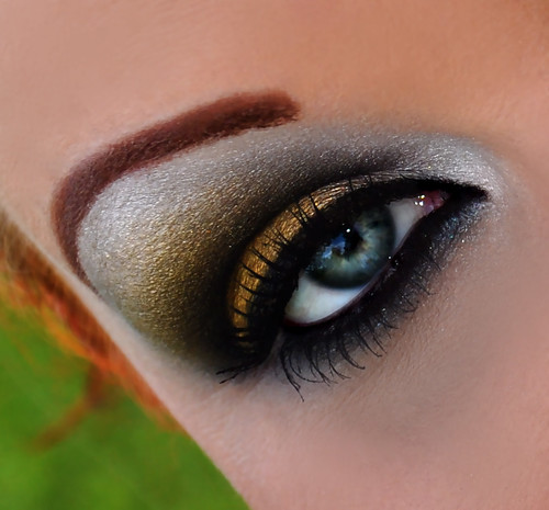 New Orleans Saints inspired eyes