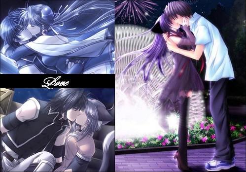 emo anime love drawings. emo anime love kiss. other