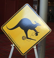 knitting Kangaroo Crossing?