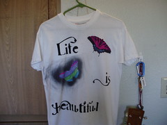 Life is Beautiful shirt - Front