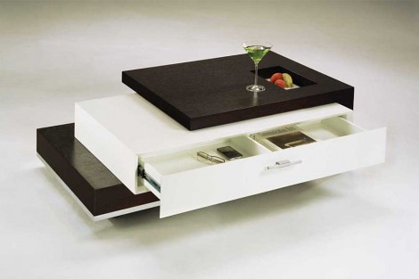 Trio Contemporary Coffee Table