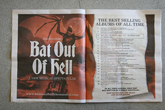 Bat out of hell!! (londontravelfox) Tags: paper theatre nightmare fraktur meatloaf blackletter typeface batoutofhell type:face=bradley