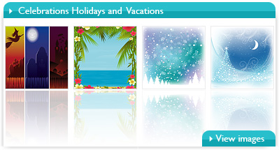 Celebrations Holidays and Vacations By Bibidesign