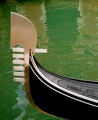 Veneza (Leticia Cosgriff) Tags: venice italy reflection water veneza boat canal gondola venezia