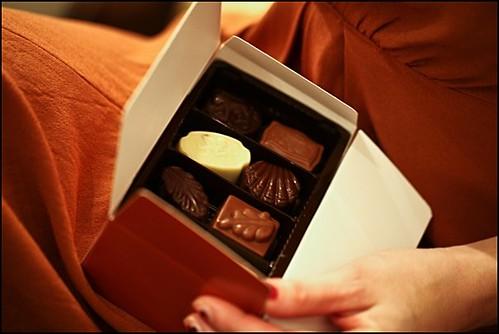 Belgisk choklad