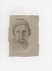 'Slugger' (Aurthur English). (Janebirkin-oui!) Tags: english pencil sketch drawing steve dora veronica hazel bailey gillian callie aurthur follyfoot quilligan