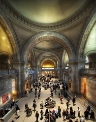 An Amazing Day at the Met (Stuck in Customs) Tags: park new york city newyorkcity travel november people urban newyork color art museum architecture america painting photography design high amazing nikon day hand dynamic stuck manhattan interior north central indoor arches exhibit collection boutique dome marble top100 held met avenue northeast range 2009 metropolitan hdr trey mile themet notripod customs fifth ratcliff stuckincustoms d3x