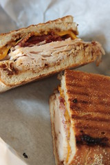 Metropulos - turkey bacon cheese bbq panino