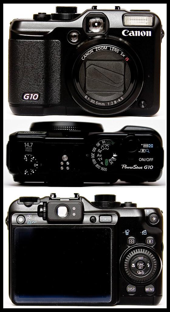 The Canon PowerShot G10