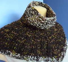 Vogue Knitting Seed Stitch Cowl