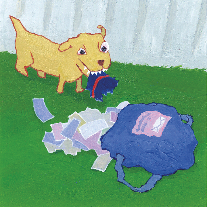 dog & mail