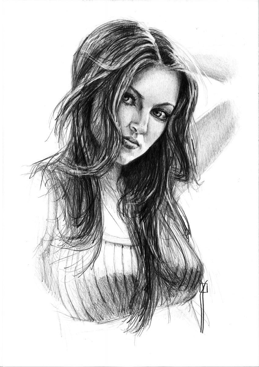 Rafa Navarro  dibujos a lapiz