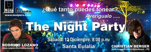 The Night Party - Club Kis Kas