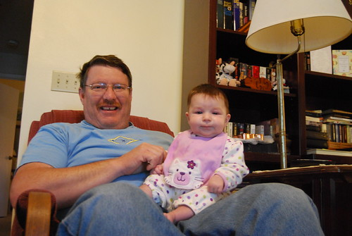 Savannah and Grandpa