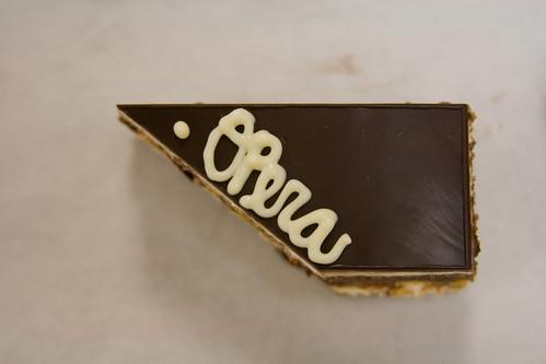 Opera Cake Triangle