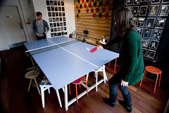 Gulliver's Ping Pong (vintagedept) Tags: london games sean pingpong shoreditch bookclub samantha christmaslunch heritagekey