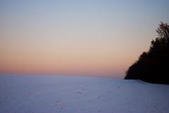 Jvnction (nejakdivne) Tags: blue winter sky nature landscape minimal gradient