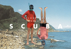 Scuba (Arian.Behzadi) Tags: color beach boys rouge scuba series textbook homme arian msced behzadi