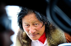Could you tell me the road to Tibet (reurinkjan) Tags: drokba  tibet  janreurink snow amdo tibetanplateaubtogang tibetan matcounty dongchu 2009 tsogyenrawa tibetanlanguage facegdongpa