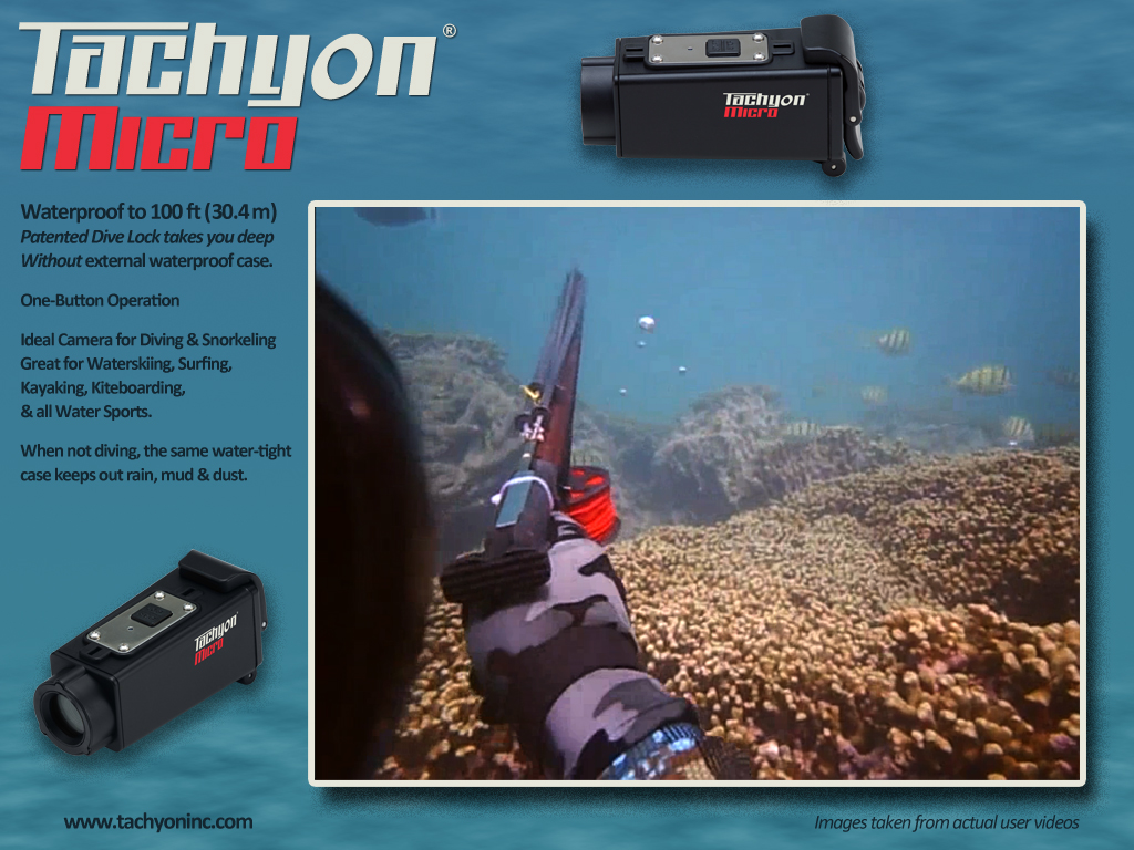 Tachyon Micro Dive Cam