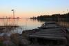 Seurasaarenselkä at sunset (polaroidized) Tags: sea water finland landscape helsinki scenery jetty finnish solnedgång brygga seurasaari laituri seurasaarenselkä fölisö föilsöfjärden