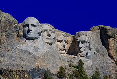 Mount Rushmore (Jim Purcell) Tags: usa mountain history monument statue rock photoshop landscape washington midwest mt head landmark carving presidential roosevelt hills mount sd national heads lincoln government americana jefferson mountainside mountrushmore fathers founding attraction topaz photomatix mountrushmorenationalpark tucsonphotographer pentaxk7 smcpentaxda50135mm28edifsdm travelsculpture