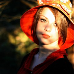 burning orange (unexpectedtales) Tags: woman beautiful face fashion book women pretty tales stunning imogen weekly unexpected blurb youtube unexpectedtales imogenx