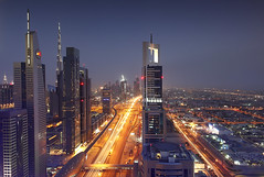 Dubai - Sheikh Zayed Road View ( Saleh AlRashaid / www.Salehphotography.net) Tags: blue tower way landscape photo high dubai chelsea cityscape gulf photos outdoor uae middleeast zayed khalifa arab hour kuwait shaikh unitedarabemirates canonef1740mmf4lusm gcc kuwaiti burj q8 saleh shaikhzayed  kuwaity            stateofkuwait   leefilters  kuwaitphoto kuwaitpic q8photo canonef1635mmf28lii canoneos5dmarkii  q8pic   alrashaid salehalrashaid salehphotographynet