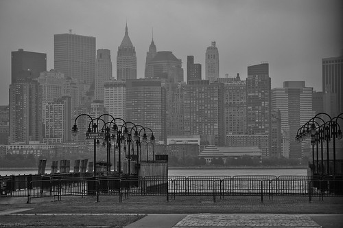 Lower Manhatten skyline