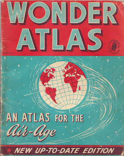 Ephemera: Wonder atlas by What Katie Does