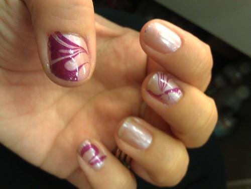 marble nail art-42