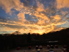 Office Window Sunset (Marc Sayce) Tags: sunset february winter 2017 forest alice holt hampshire bucks horn oak farnham surrey south downs national park