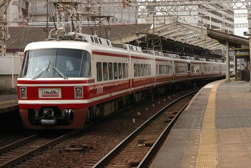 Nankai30000series in Shin-Imamiya,Osaka,Osaka,Japan 2009/7/3