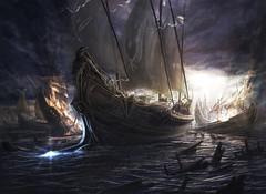 Battle of Ancient Sea (felipecastilloparra) Tags: de escritorio fondos
