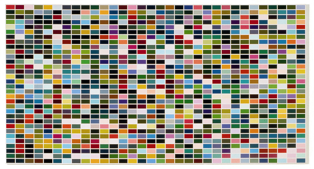 Richter, Gerhard (1932- ) - 1973  1924 Colors in 4 Permutations