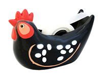 Chicken (Black) Tape Dispenser ($12.50)