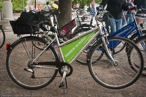 My Zuri rollt bike