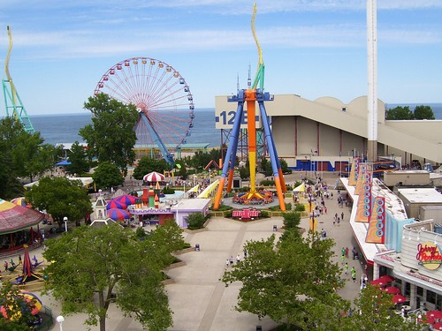 Cedar Point - Kiddy Kingdom and Wicked Twister Midway