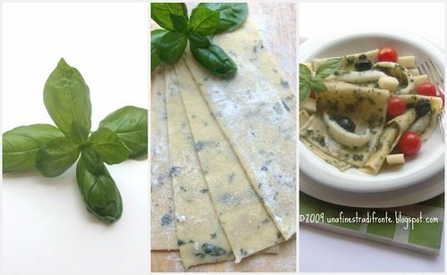 Insalata di lasagne al basilico