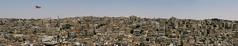 First glimpse of downtown Amman (Lil [Kristen Elsby]) Tags: city travel urban panorama topv2222 skyline landscape flag amman middleeast jordan getty flagpole gettyimages urbanlandscape dense downtownamman travelphotography عمان الأردنّ eastamman gettyimagesonflickr