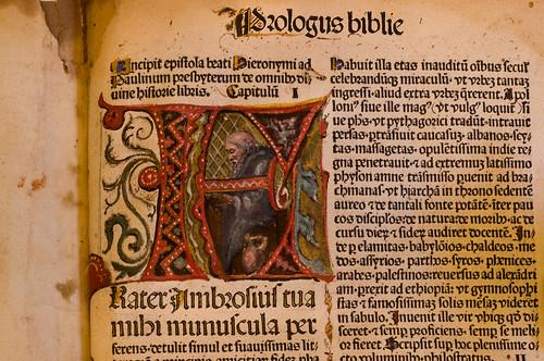 Textus Biblie by Preuss of Strassburg