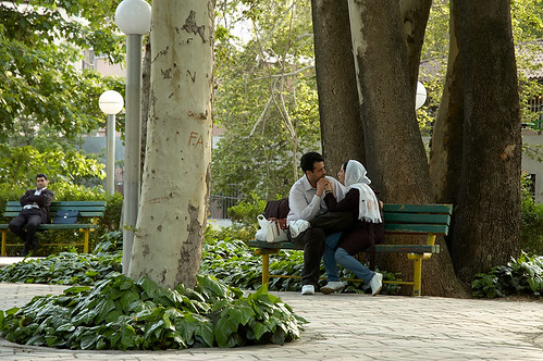Making Out In Tehran