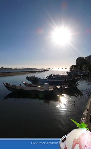 你拍攝的 Fisherman's Wharf 。