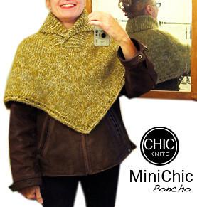 Chic Knits MiniChic Poncho